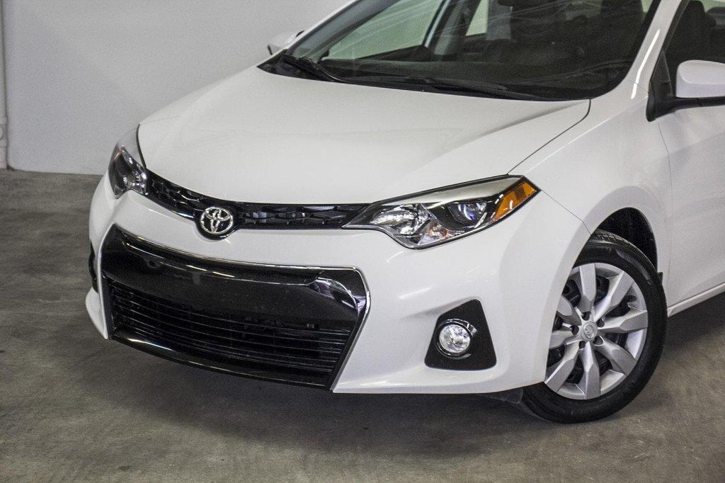 2015 Toyota Corolla S/Caméra Recul/ Banc Chauffants / Bluetooth in Verdun, Quebec - 39 - w1024h768px