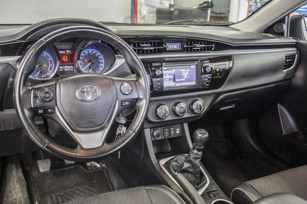 2015 Toyota Corolla S/Caméra Recul/ Banc Chauffants / Bluetooth in Verdun, Quebec - 15 - w1024h768px
