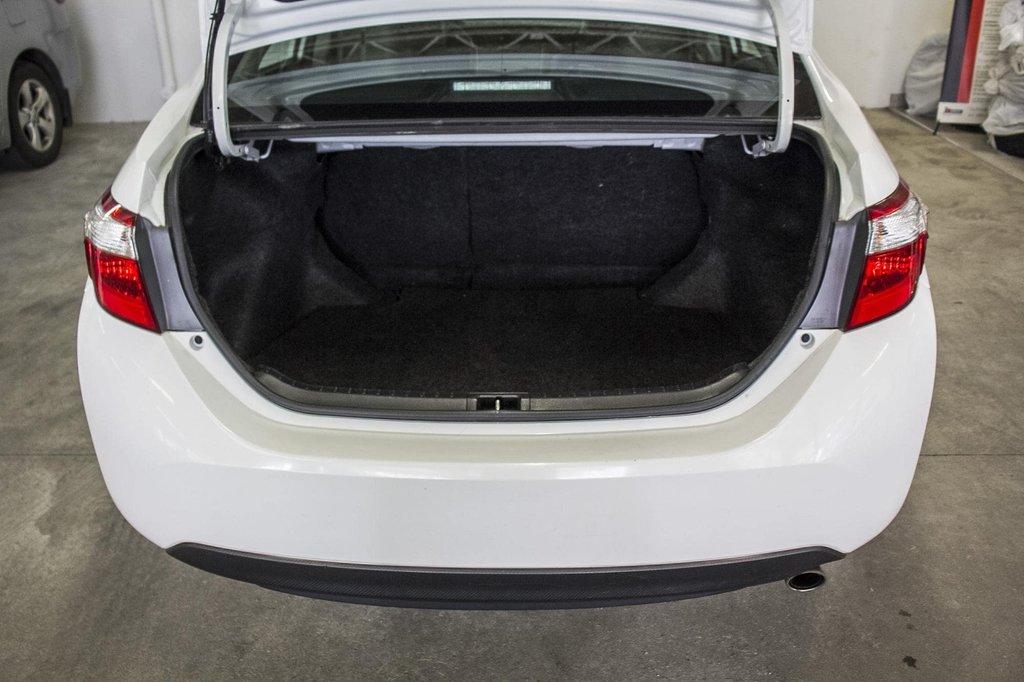 2015 Toyota Corolla S/Caméra Recul/ Banc Chauffants / Bluetooth in Verdun, Quebec - 36 - w1024h768px