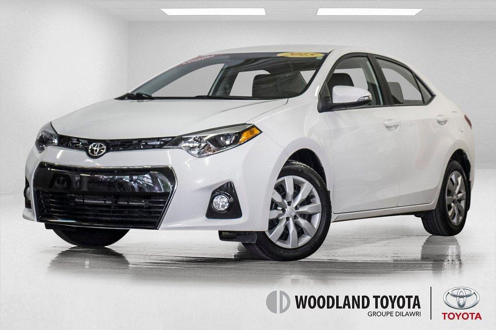 2015 Toyota Corolla S/Caméra Recul/ Banc Chauffants / Bluetooth in Verdun, Quebec - 1 - w1024h768px