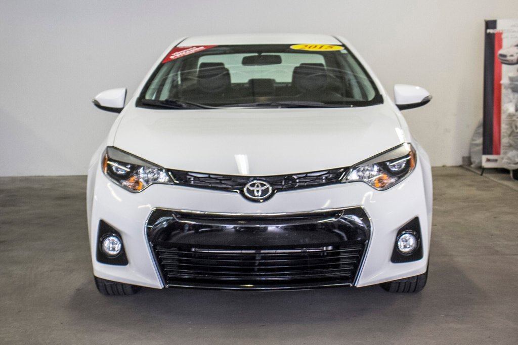 2015 Toyota Corolla S/Caméra Recul/ Banc Chauffants / Bluetooth in Verdun, Quebec - 3 - w1024h768px