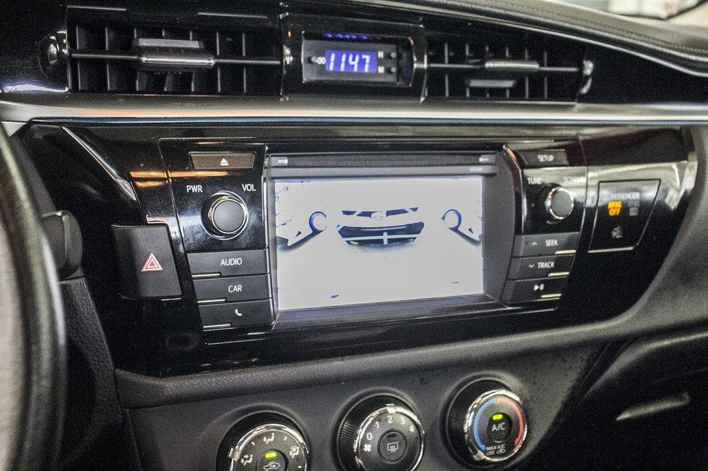 2015 Toyota Corolla S/Caméra Recul/ Banc Chauffants / Bluetooth in Verdun, Quebec - 23 - w1024h768px