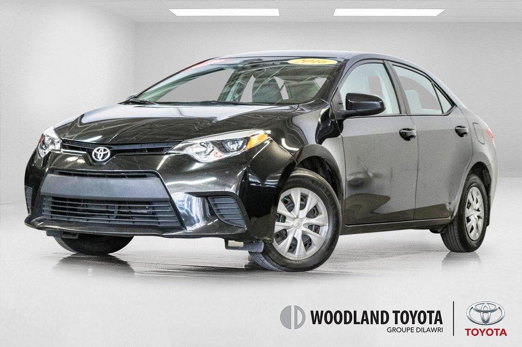 Toyota Corolla CE/Bluetooth/Groupe Électrique ++ 2016 à Verdun, Québec - 1 - w1024h768px