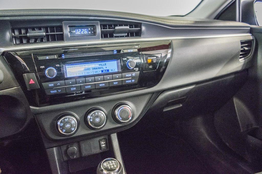 Toyota Corolla CE/Bluetooth/Groupe Électrique ++ 2016 à Verdun, Québec - 33 - w1024h768px