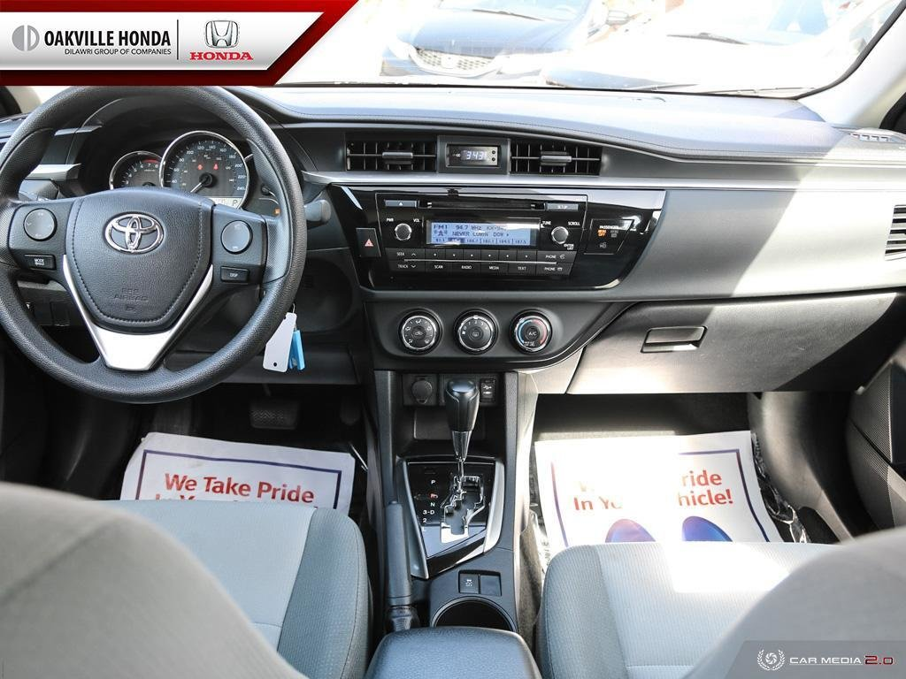 2016 Toyota Corolla 4-door Sedan CE 4A in Oakville, Ontario - 25 - w1024h768px