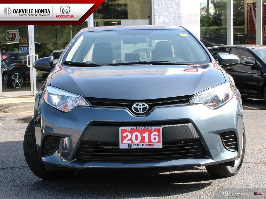 2016 Toyota Corolla 4-door Sedan CE 4A in Oakville, Ontario - 2 - w1024h768px