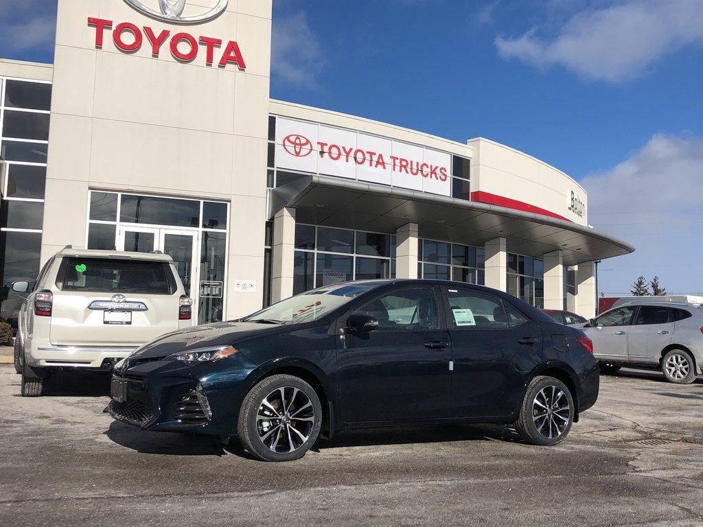 2019 Toyota Corolla SE in Bolton, Ontario - 1 - w1024h768px