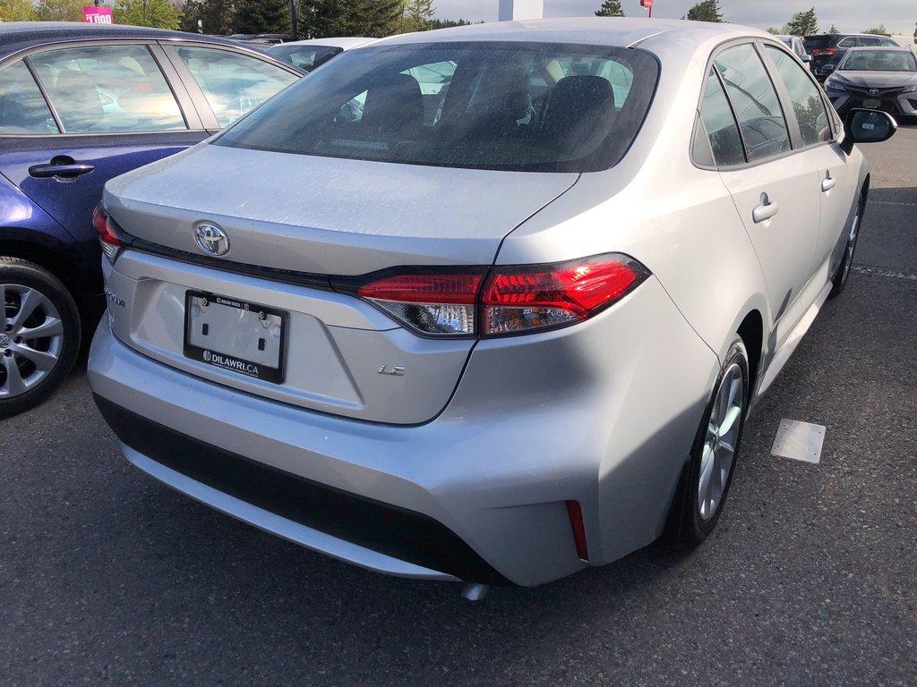 2020 Toyota Corolla 4-door Sedan LE CVT in Bolton, Ontario - 4 - w1024h768px