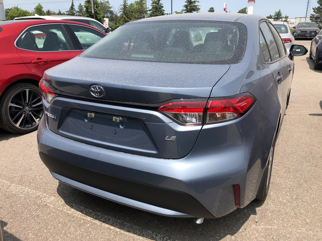 2020 Toyota Corolla LE in Bolton, Ontario - 4 - w1024h768px