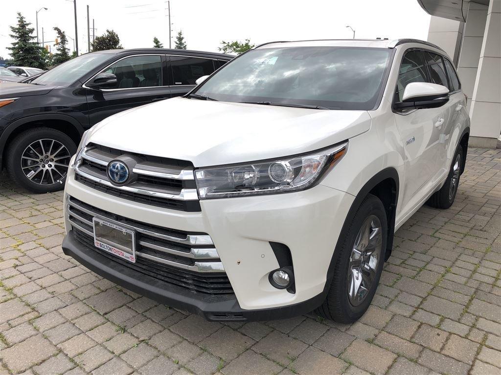 2018 Toyota Highlander Hybrid Limited in Bolton, Ontario - 1 - w1024h768px