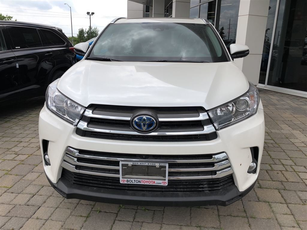 2018 Toyota Highlander Hybrid Limited in Bolton, Ontario - 2 - w1024h768px