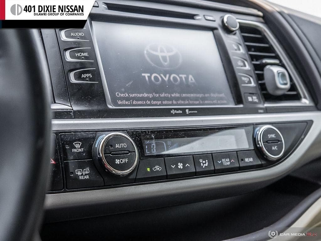2014 Toyota Highlander XLE AWD in Mississauga, Ontario - 19 - w1024h768px