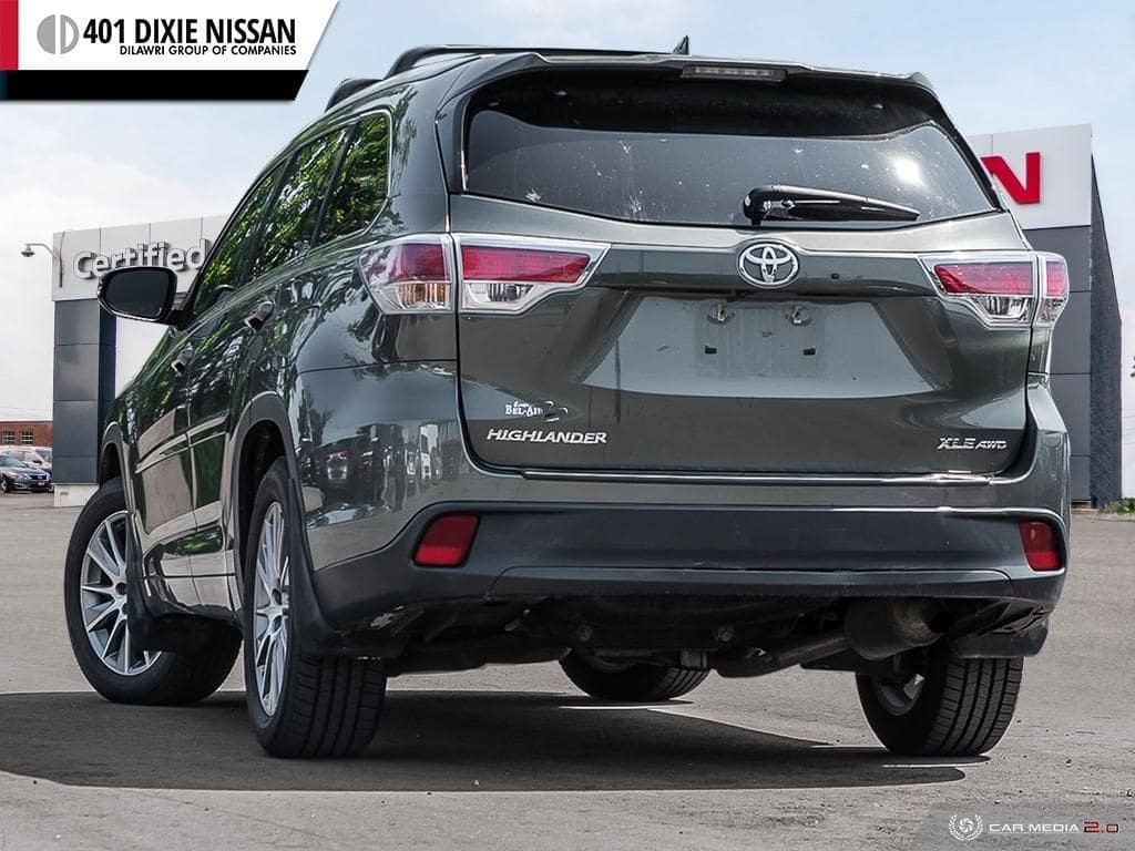 2014 Toyota Highlander XLE AWD in Mississauga, Ontario - 4 - w1024h768px