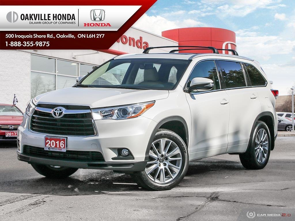 2016 Toyota Highlander XLE AWD in Oakville, Ontario - 1 - w1024h768px