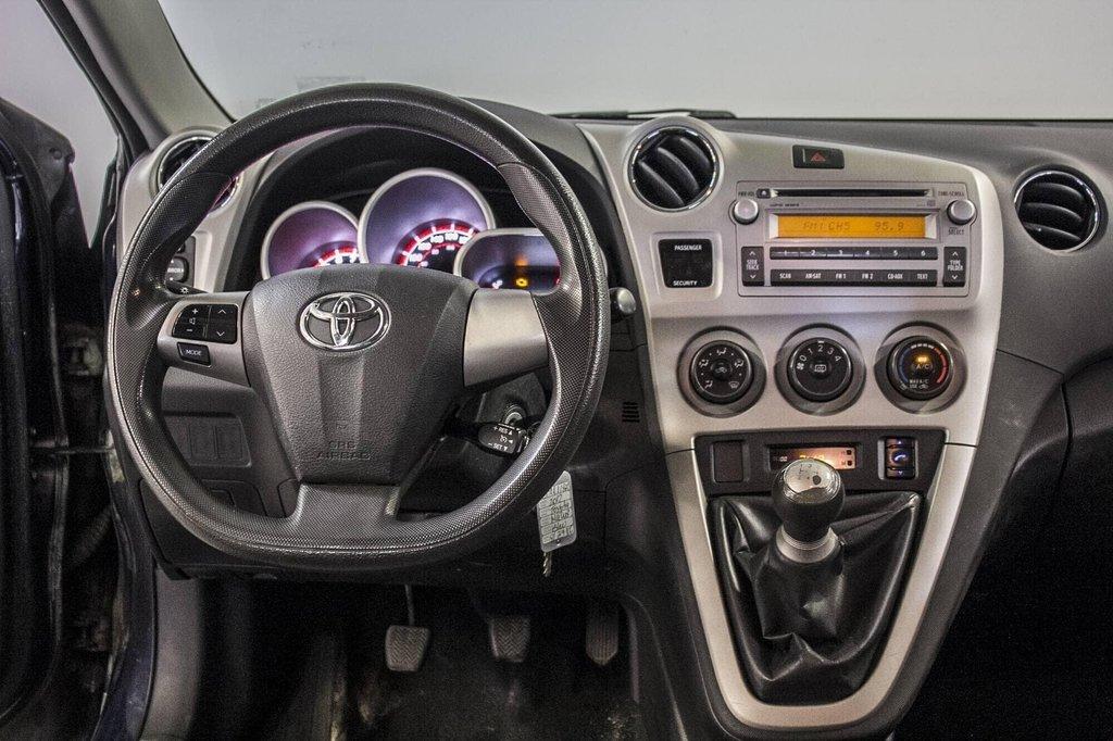 Toyota Matrix A/C / Groupe Électrique / Spacieux / Fiable 2012 à Verdun, Québec - 16 - w1024h768px