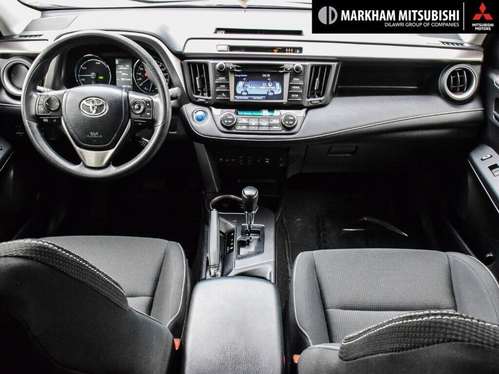2018 Toyota RAV4 Hybrid LE+ in Markham, Ontario - 11 - w1024h768px