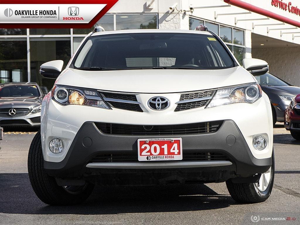 2014 Toyota RAV4 AWD Limited in Oakville, Ontario - 2 - w1024h768px