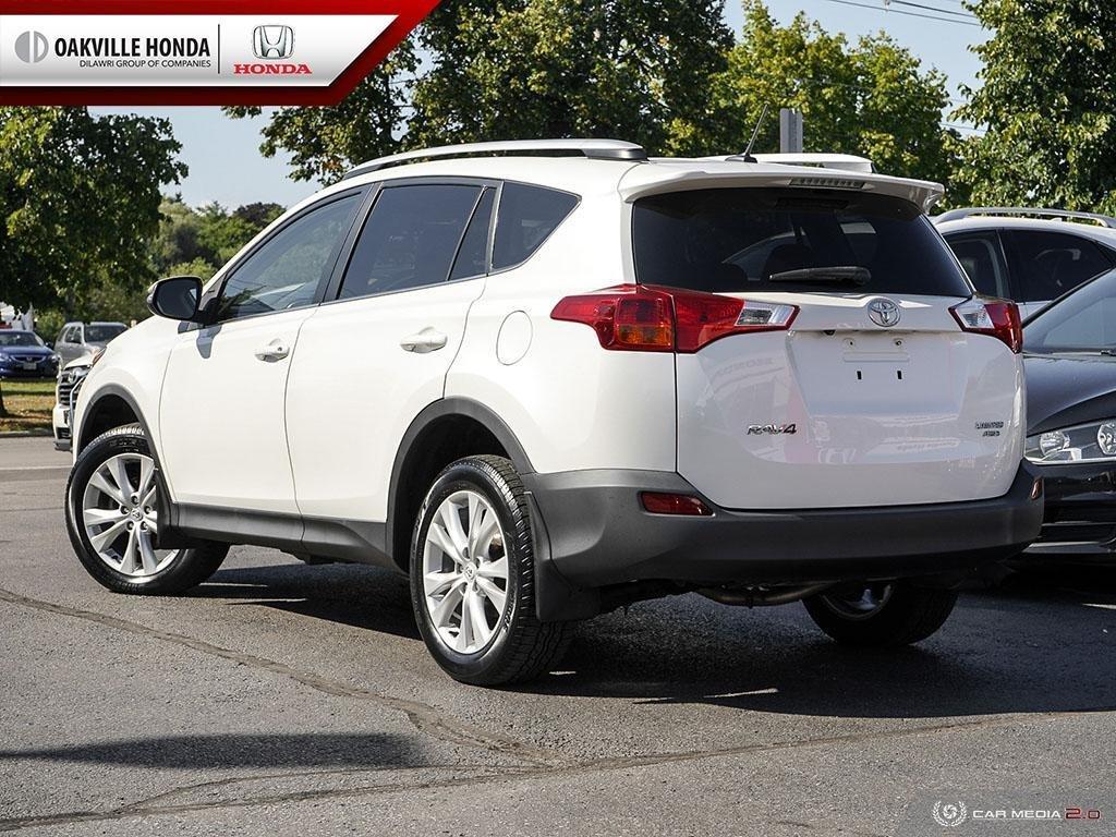 2014 Toyota RAV4 AWD Limited in Oakville, Ontario - 4 - w1024h768px
