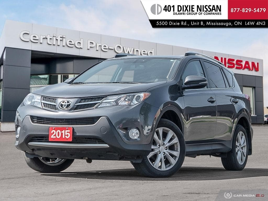 2015 Toyota RAV4 AWD Limited in Mississauga, Ontario - 1 - w1024h768px