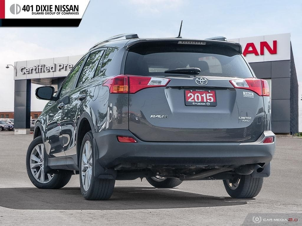 2015 Toyota RAV4 AWD Limited in Mississauga, Ontario - 4 - w1024h768px