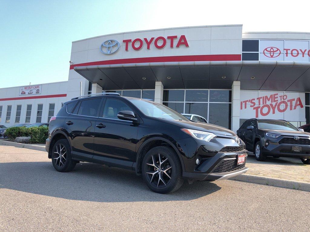 2016 Toyota RAV4 AWD SE in Bolton, Ontario - 1 - w1024h768px