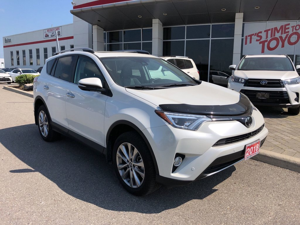 2018 Toyota RAV4 AWD Limited in Bolton, Ontario - 4 - w1024h768px