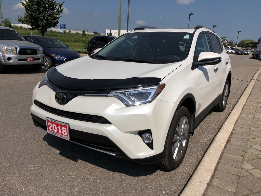 2018 Toyota RAV4 AWD Limited in Bolton, Ontario - 2 - w1024h768px