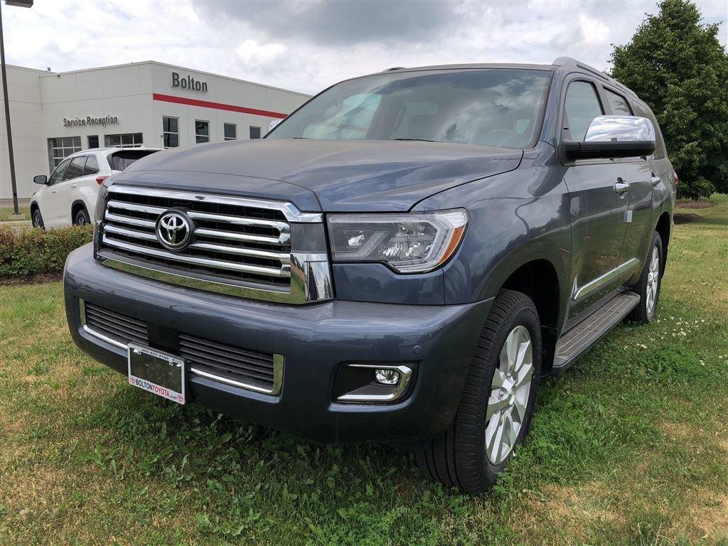 2018 Toyota Sequoia Platinum 5.7L 6A in Bolton, Ontario - 1 - w1024h768px