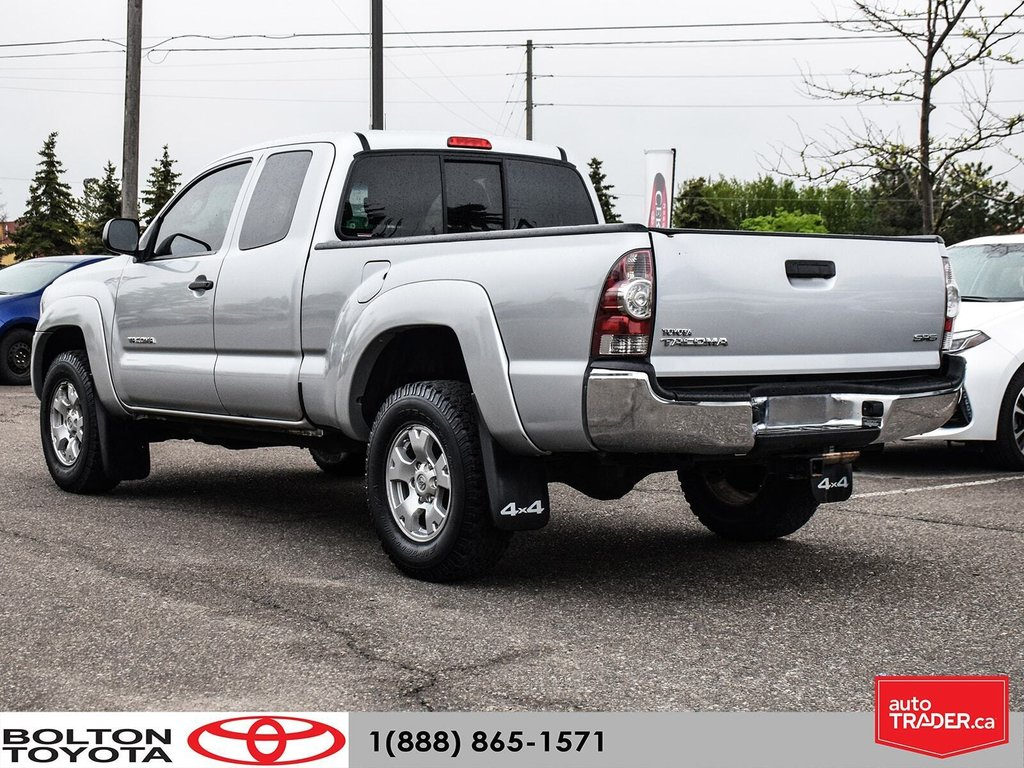 2011 Toyota Tacoma 4x4 Access Cab 5M in Bolton, Ontario - 4 - w1024h768px