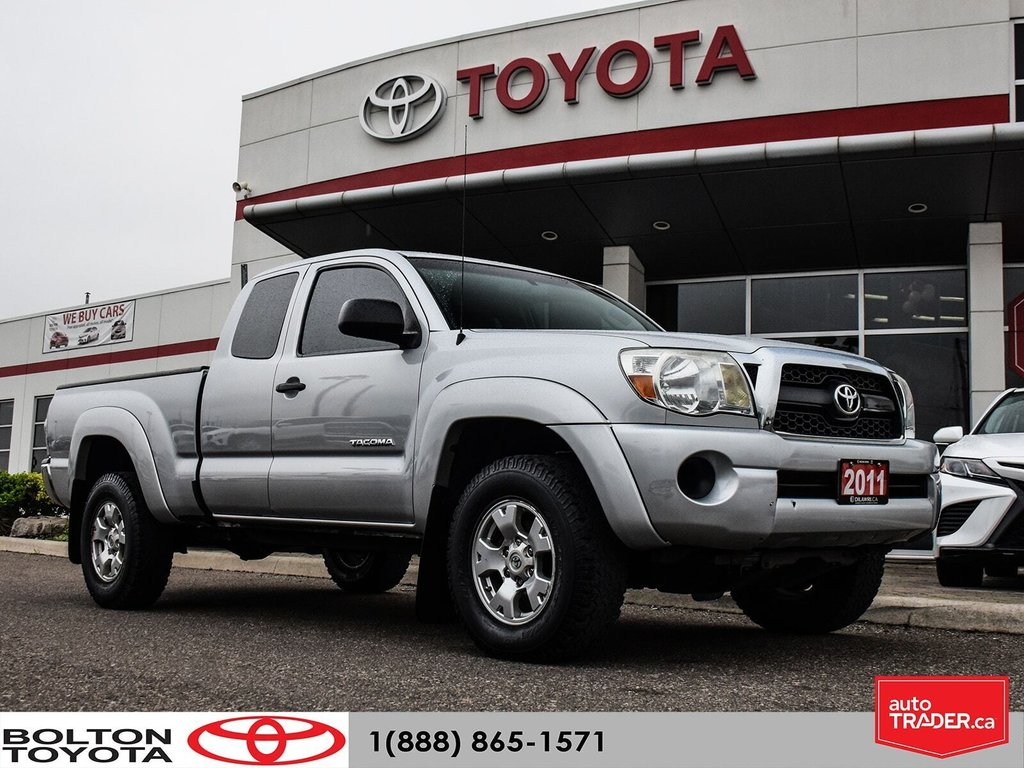 2011 Toyota Tacoma 4x4 Access Cab 5M in Bolton, Ontario - 1 - w1024h768px