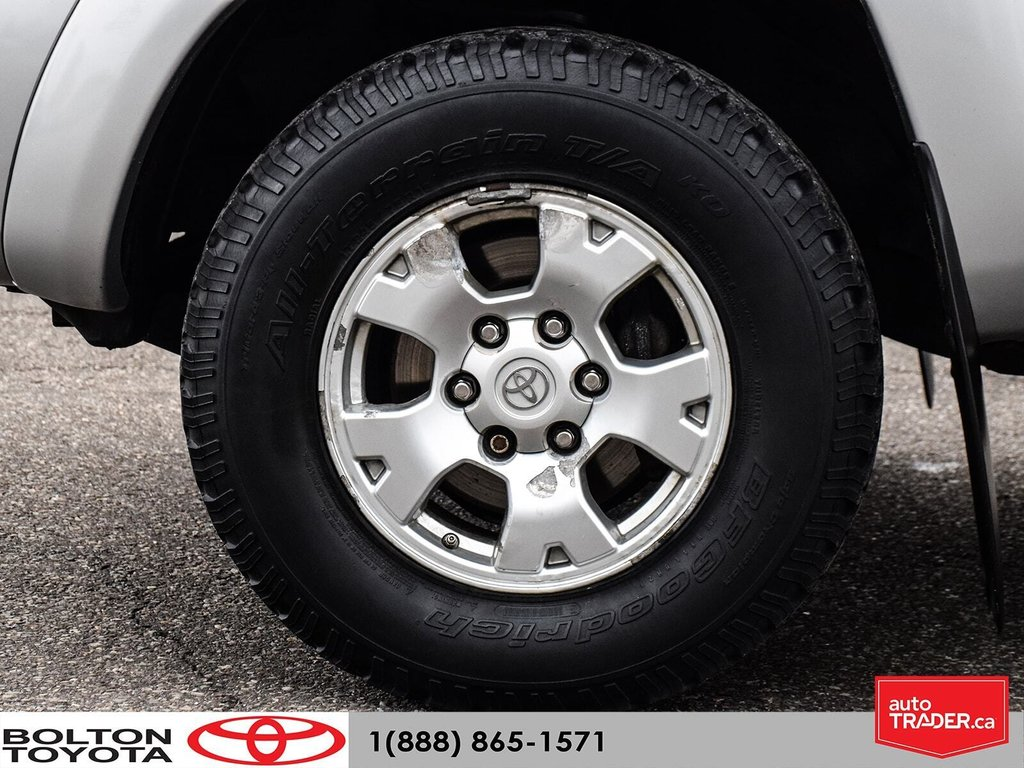 2011 Toyota Tacoma 4x4 Access Cab 5M in Bolton, Ontario - 7 - w1024h768px