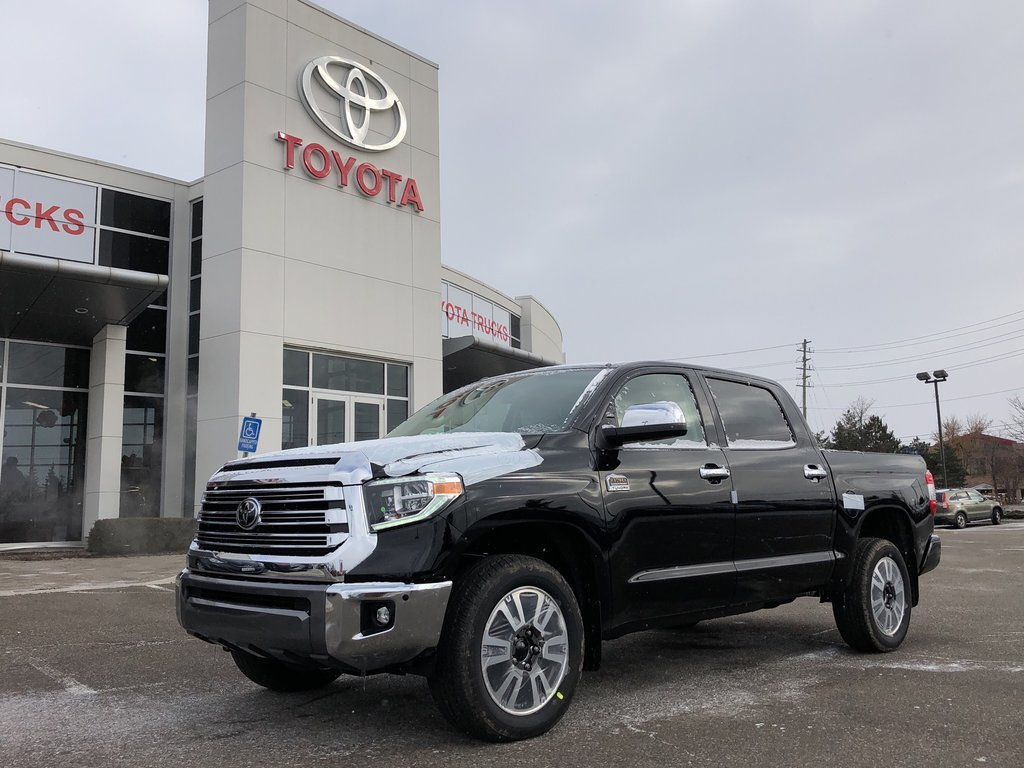 2019 Toyota Tundra Platinum in Bolton, Ontario - 1 - w1024h768px