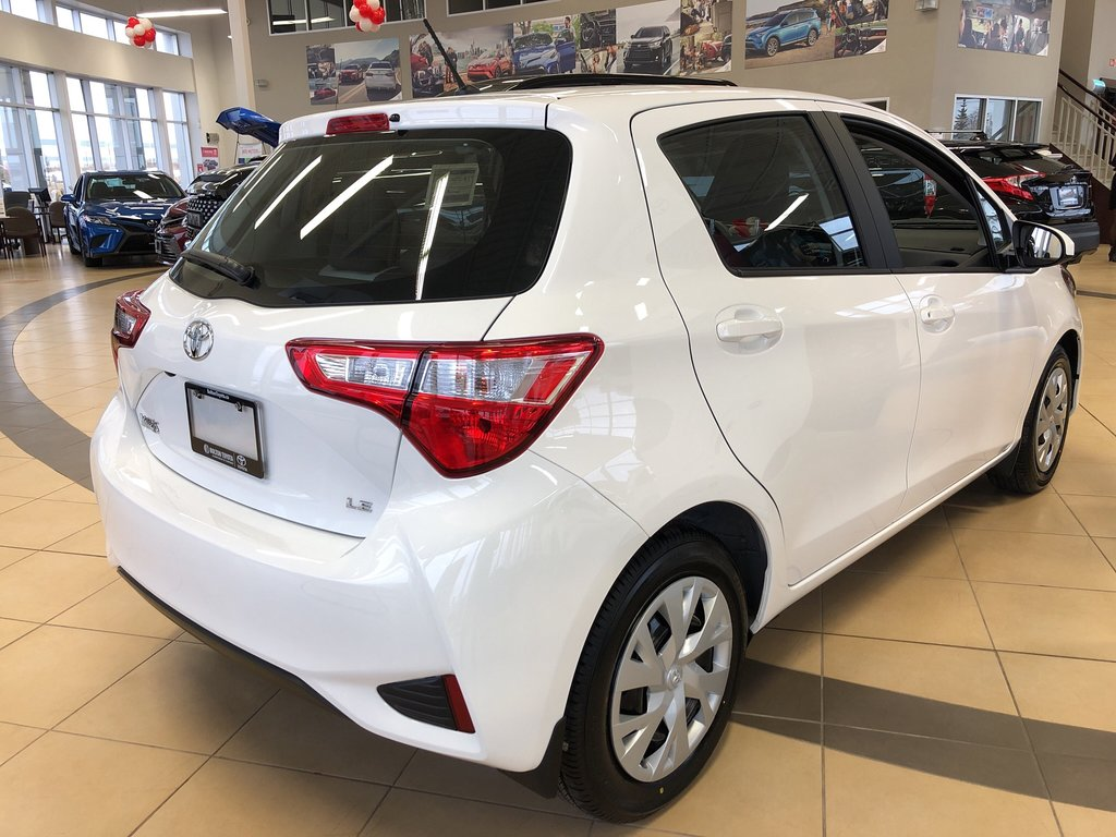 2019 Toyota Yaris Hatchback LE in Bolton, Ontario - 4 - w1024h768px