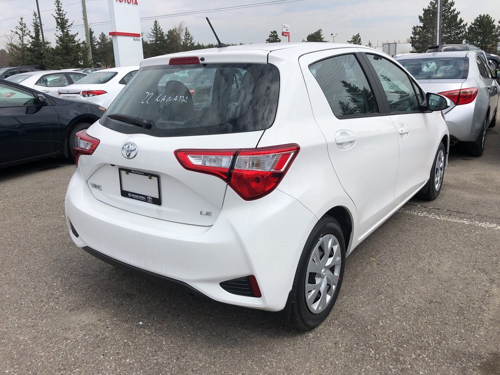 2019 Toyota Yaris Hatchback LE in Bolton, Ontario - 3 - w1024h768px