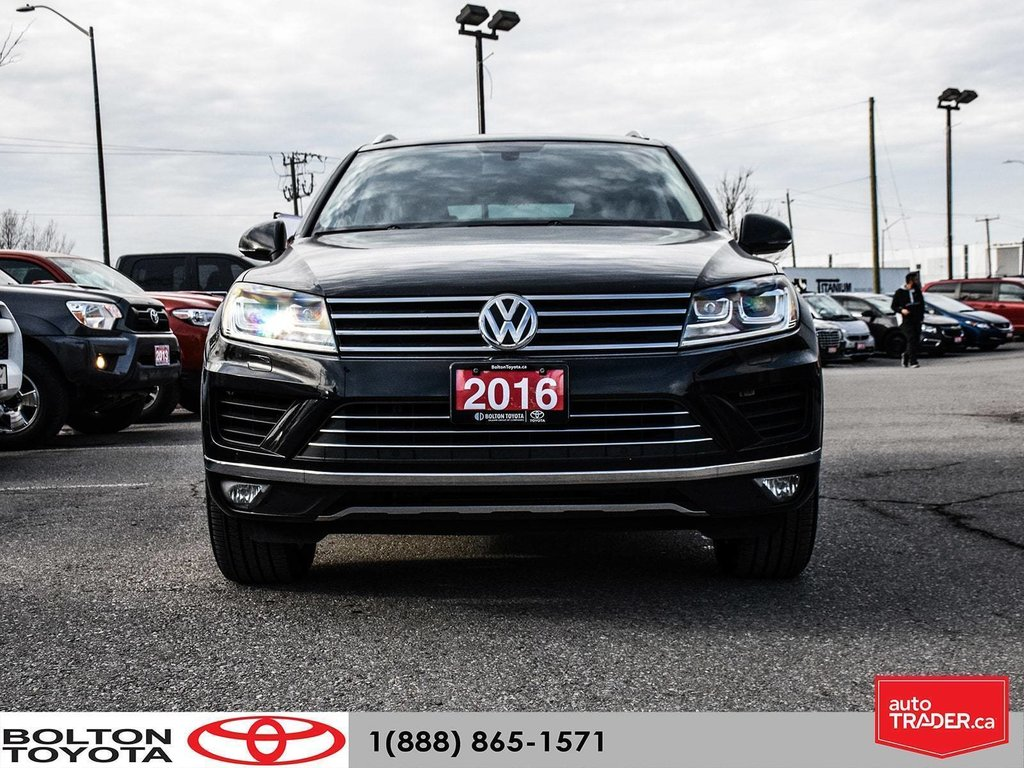 2016 Volkswagen Touareg Comfortline 3.6L 8sp at w/Tip 4M in Bolton, Ontario - 2 - w1024h768px