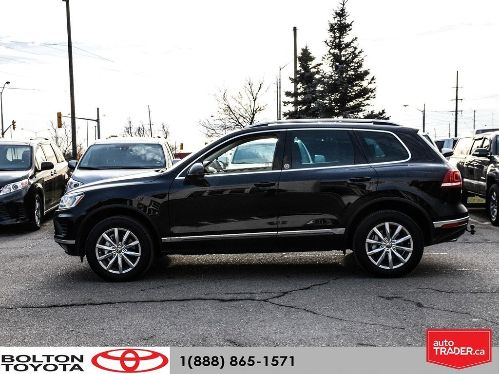 2016 Volkswagen Touareg Comfortline 3.6L 8sp at w/Tip 4M in Bolton, Ontario - 3 - w1024h768px