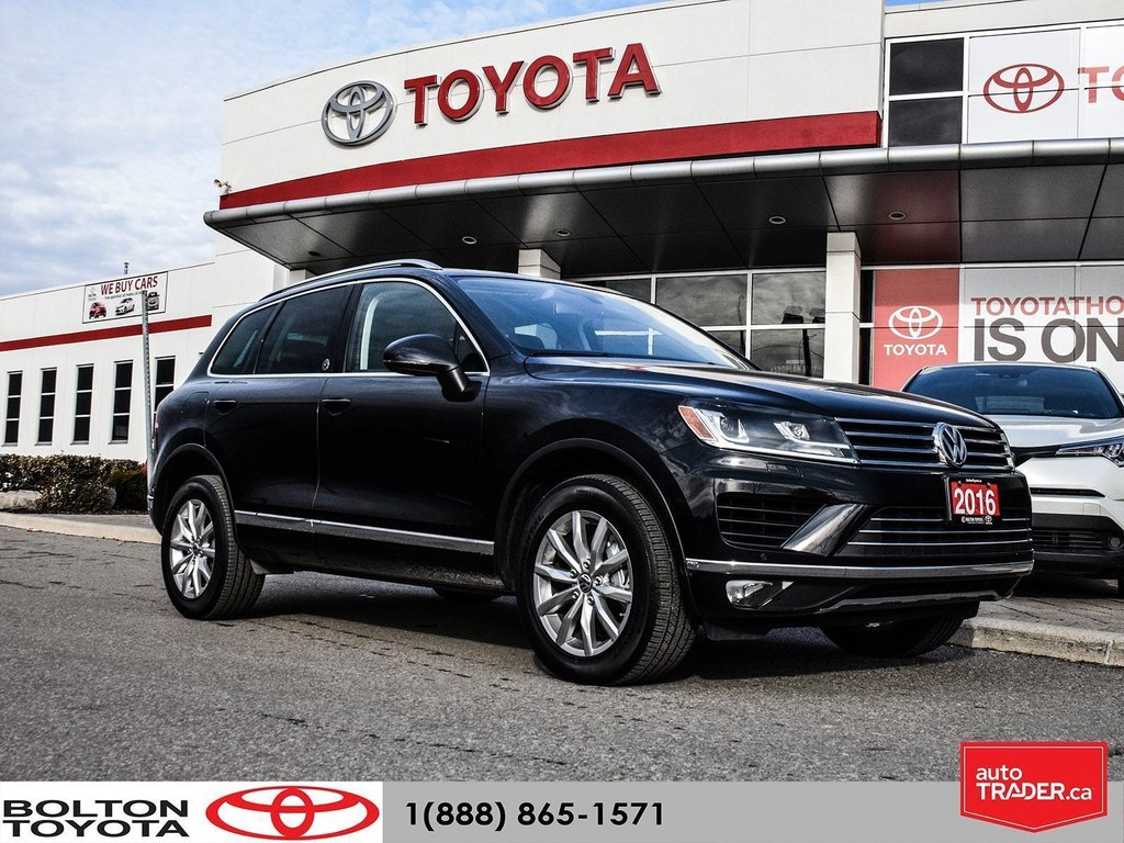 2016 Volkswagen Touareg Comfortline 3.6L 8sp at w/Tip 4M in Bolton, Ontario - 1 - w1024h768px