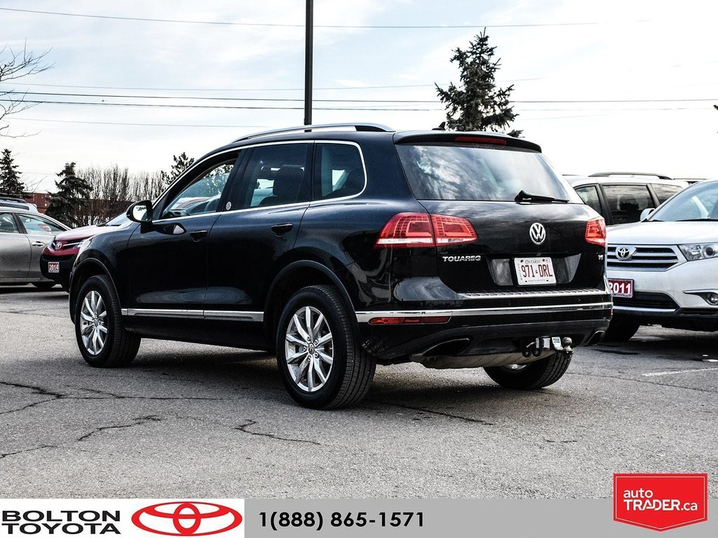 2016 Volkswagen Touareg Comfortline 3.6L 8sp at w/Tip 4M in Bolton, Ontario - 4 - w1024h768px