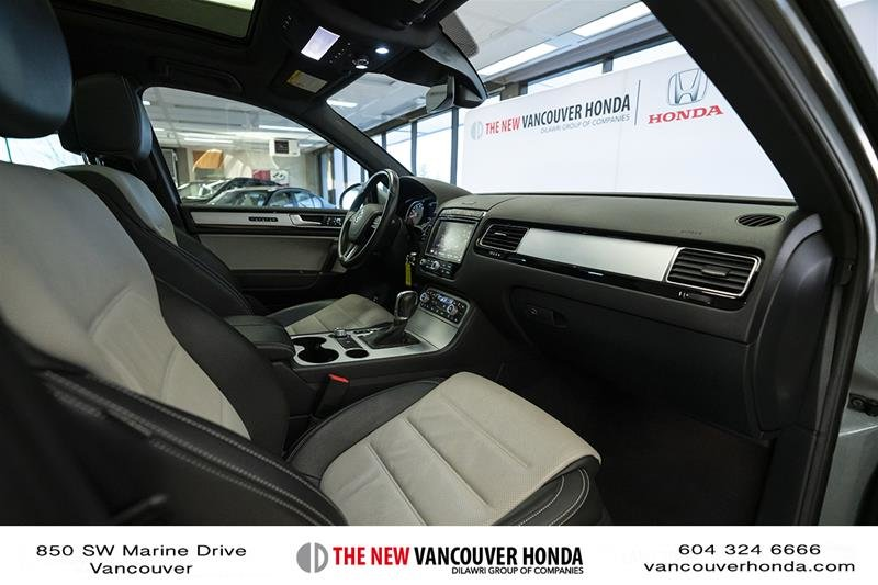 2017 Volkswagen Touareg Wolfsburg Edition 3.6L 8sp at w/Tip 4M in Vancouver, British Columbia - 17 - w1024h768px