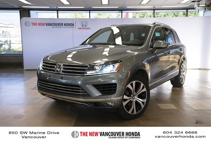 2017 Volkswagen Touareg Wolfsburg Edition 3.6L 8sp at w/Tip 4M in Vancouver, British Columbia - 1 - w1024h768px