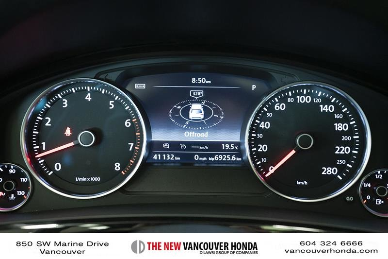 2017 Volkswagen Touareg Wolfsburg Edition 3.6L 8sp at w/Tip 4M in Vancouver, British Columbia - 22 - w1024h768px