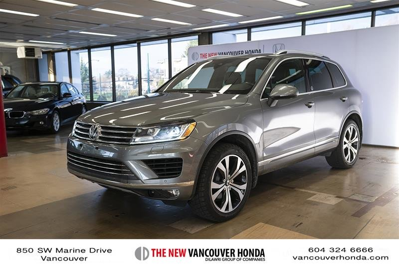 2017 Volkswagen Touareg Wolfsburg Edition 3.6L 8sp at w/Tip 4M in Vancouver, British Columbia - 2 - w1024h768px