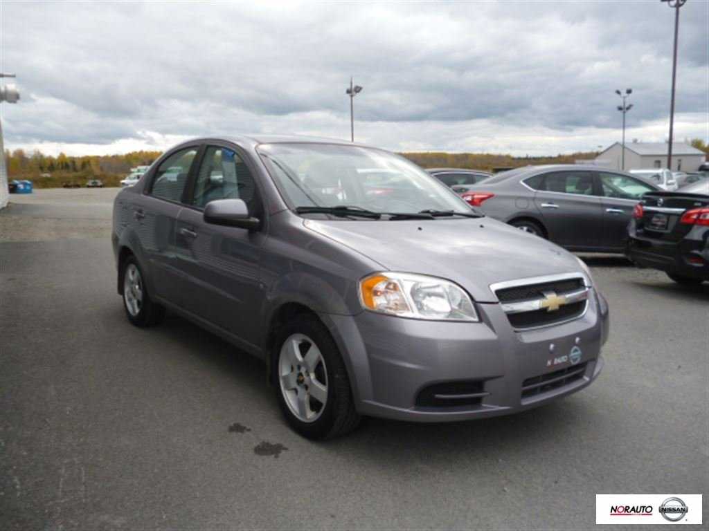 Used 2009 Chevrolet Aveo LS Manuel 5 vitesses in Amos - Used ...