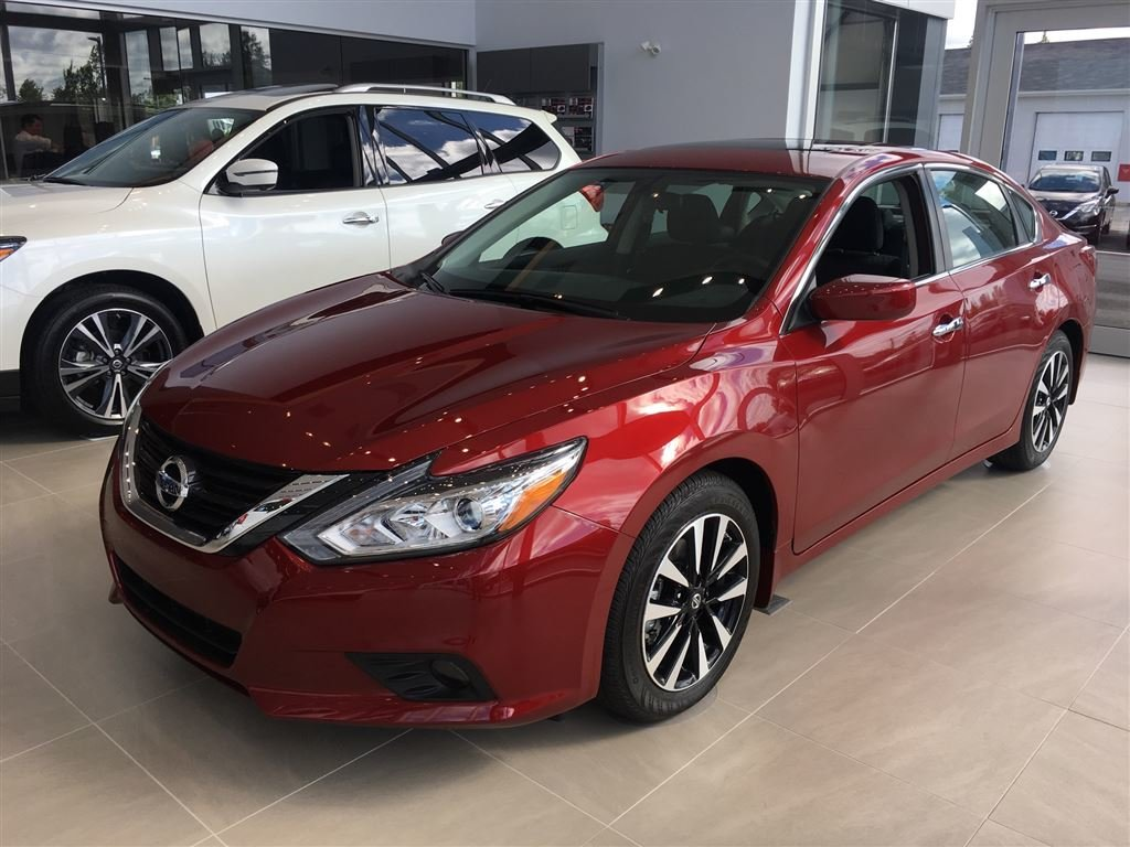 New 2018 Nissan Altima 2.5 for sale in Miramichi - Trevors ...