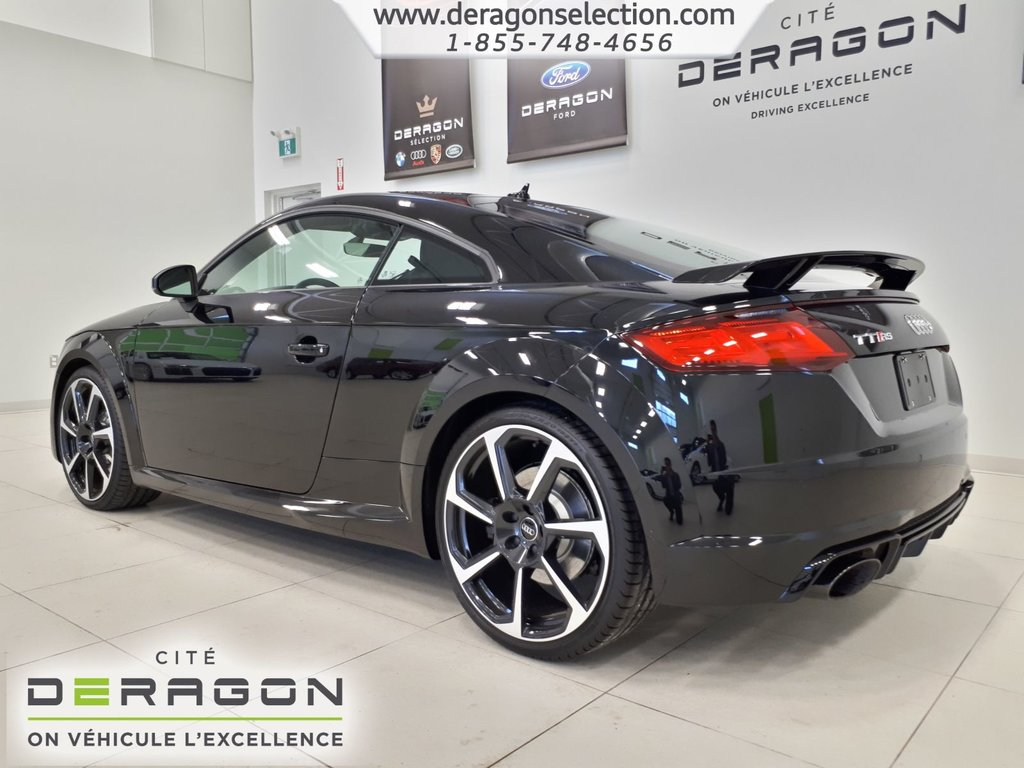 2018 audi tt rs 2 5t s tronic tr s rare nav d 39 occasion montreal inventaire d 39 occasion. Black Bedroom Furniture Sets. Home Design Ideas