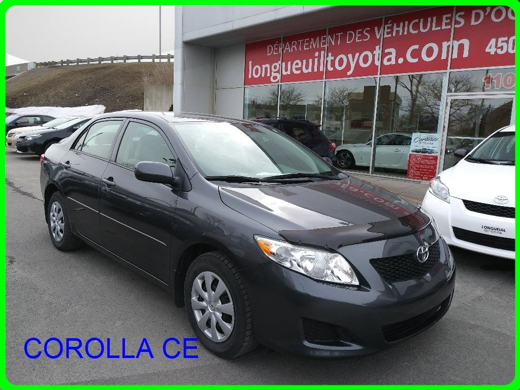 Used 2009 Toyota Corolla CE in Longueuil - Used inventory ...