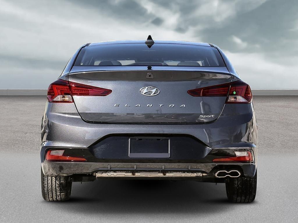 Hyundai Gallery | 2019 Hyundai Elantra Sedan Sport - DCT ...