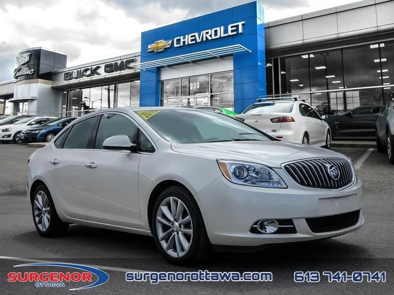 Surgenor Automotive Group 2016 Buick Verano Leather Certified Leather Seats 123 13 B W 39144a