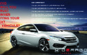2014 Honda Civic Sedan EX+BAS KILO+CAMERA+TOIT OUVRANT+BLUETOOTH+A/C