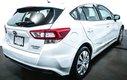 2017 Subaru Impreza AWD  Convenience CAMÉRA RECUL BLUETOOTH